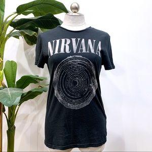 H&M Distressed Nirvana T-shirt